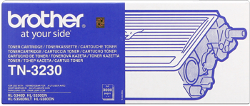 Brother tn-3230 toner nero, durata 3.000 pagine