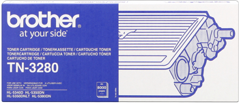 Brother tn-3280 toner nero, durata 8.000 pagine