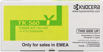 kyocera tk-560y toner giallo, durata 10.000 stampe