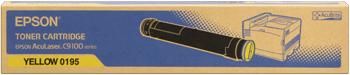 Epson s050195 toner giallo, durata 12.000 pagine