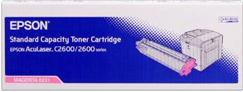 Epson s050231 toner magenta standard
