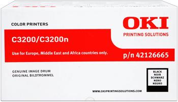Oki 42126665  Tamburo di stampa nero, durata 14.000 pagine