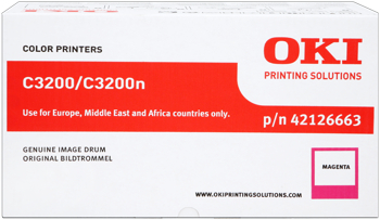 Oki 42126663 tamburo di stampa magenta, durata 14.000 pagine
