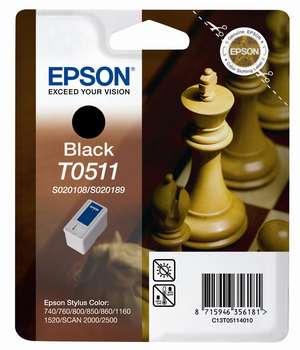 Epson t05114010 cartuccia nero, durata indicata 900 pagine