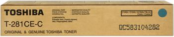 Toshiba t-281-cec toner cyano, durata 10.000 pagine