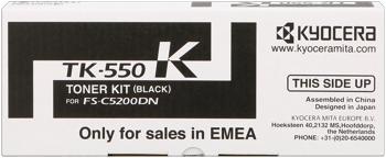 kyocera tk-550k toner nero 7.000p