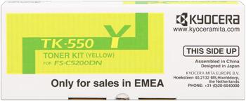 kyocera tk-550y toner giallo 6.000p