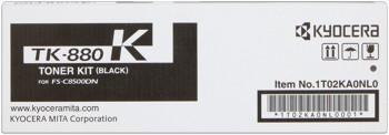 kyocera tk-880k toner nero, durata 25.000 pagine