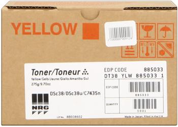 Nashuatec dt38y toner giallo, durata 10.000 pagine