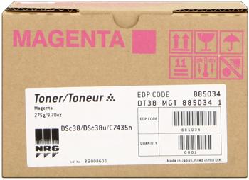 Nashuatec dt38m toner magenta, durata 10.000 pagine