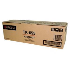 kyocera tk-655 toner originale, durata  47.000 pagine
