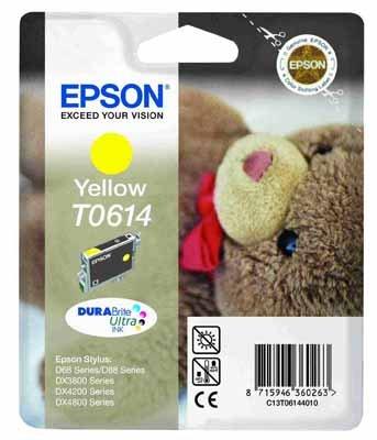 Epson t06144010 cartuccia giallo 420 pagine