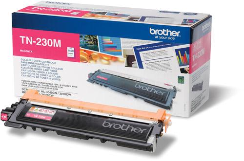 Brother tn-230m toner magenta, durata 1.400 pagine