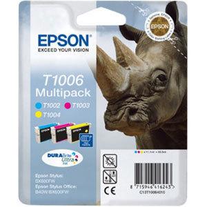 Epson T10064010 Multipack ciano / magenta / giallo, 3 cartucce.