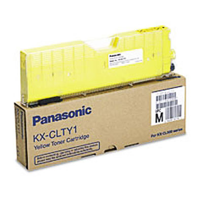 Panasonic kx-clty1 toner giallo 5.000p