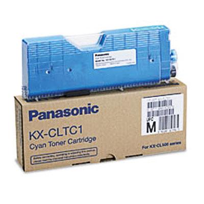 Panasonic kx-cltc1 toner cyano 5.000p