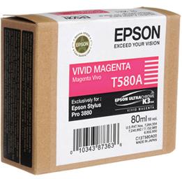 Epson t580a00 cartuccia magenta capacit� 80ml