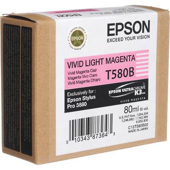 Epson t580b00 cartuccia lightmagenta capacit� 80ml