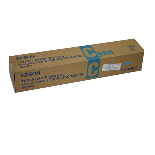 Epson s050041 toner cyano durata 6.000 stampe