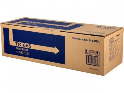 kyocera tk-665 toner originale nero, durata 55.000 pagine