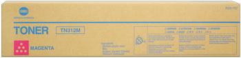 konica Minolta tn-312m toner magenta durata 12.000 pagine