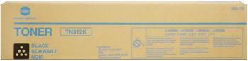 konica Minolta tn-312k toner nero durata 20.000 pagine