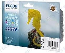 Epson T04874010 confezione multi bk/c/m/y/lc/lm