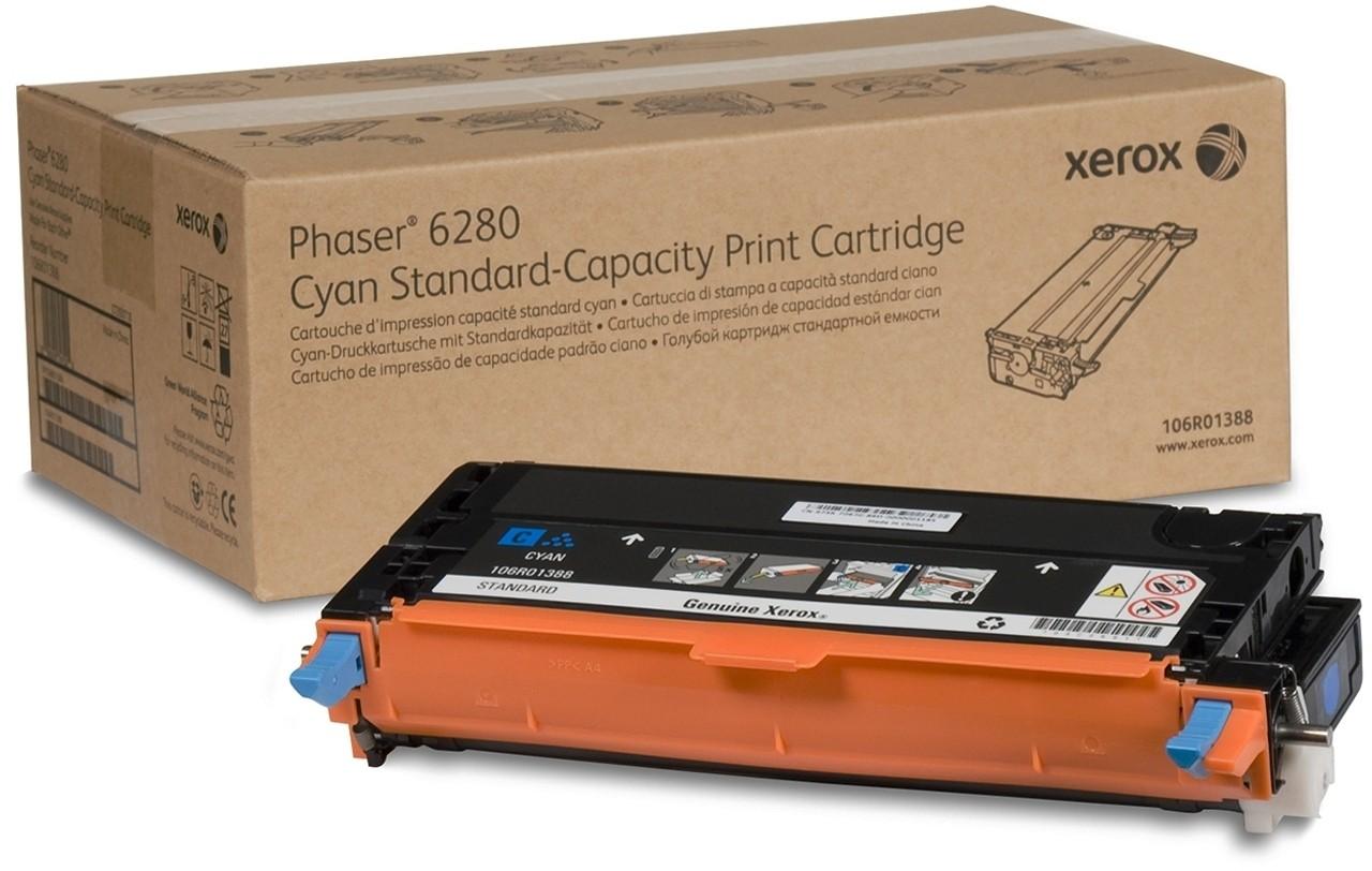 Xerox 106R01388 toner cyano bassa capacit�, durata 2.200 pagine