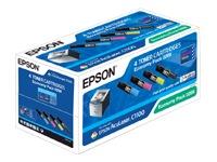 Epson s050268 Multipack 4 colori: nero,cyano,magenta,giallo. S050190 + S050191 + S050192 + S050193
