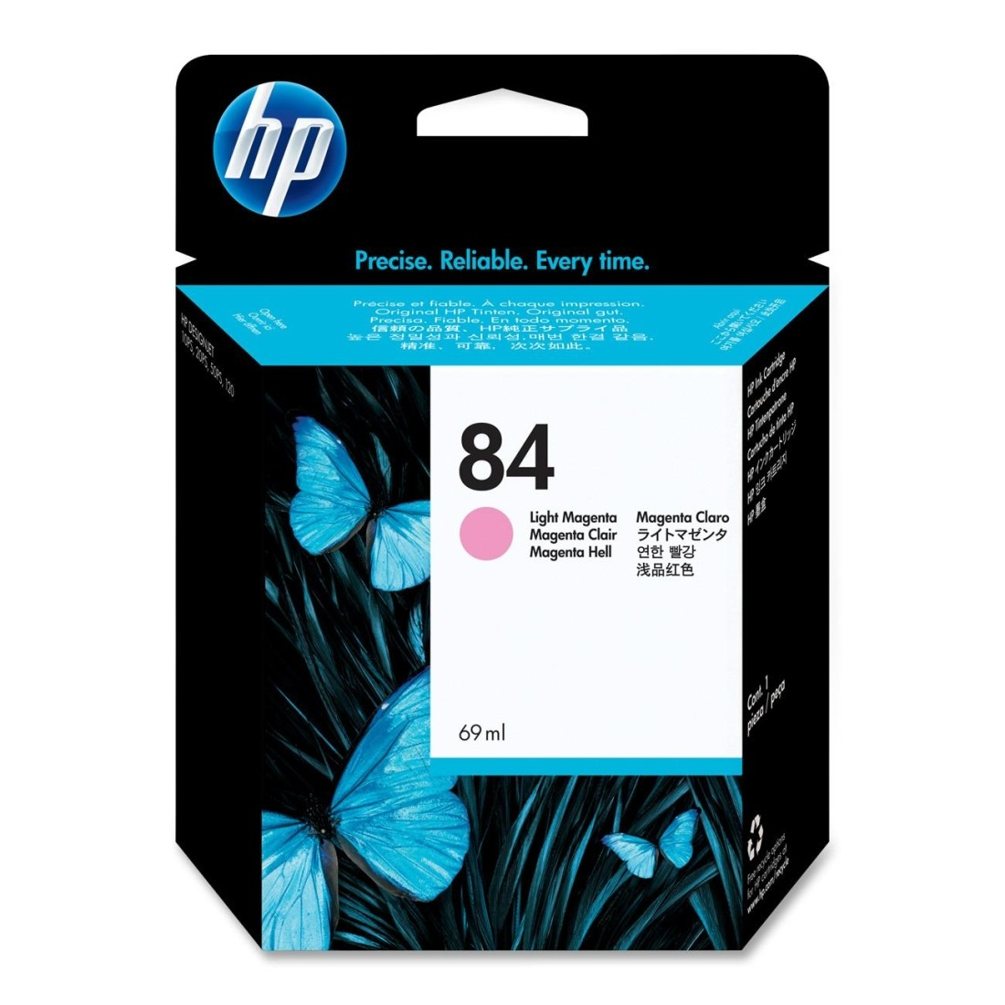 Hp C5018A  cartuccia magenta chiara, capacit�  69ml