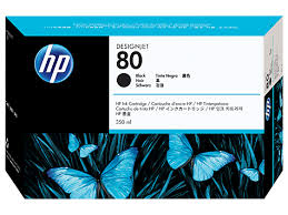 Hp C4871A cartuccia alta cap.nero 350ml