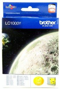 Brother lc-1000y cartuccia giallo durata 400 pagine