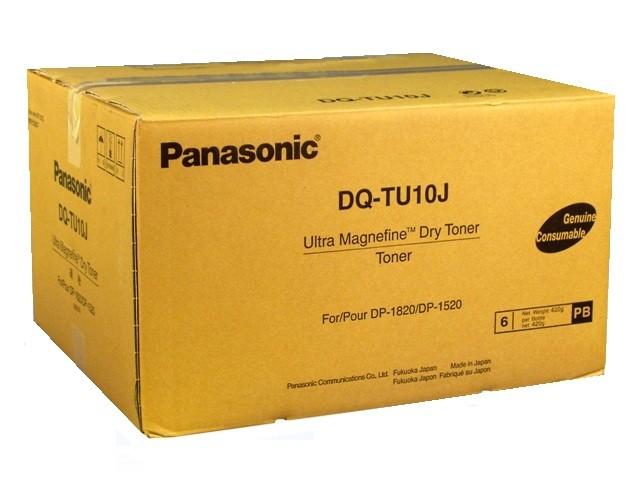 Panasonic DQ-TU10J toner compatibile 10.000 pagine, confezione(6PZ) +vasch.recupero