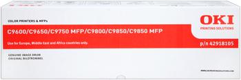 Oki 42918105 Tamburo giallo, durata indicata 20.000 pagine