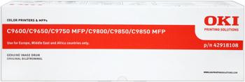 toner e cartucce - 42918108 Tamburo nero, durata indicata 20.000 pagine
