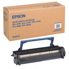 Epson s050010 toner originale nero, durata 6.000 pagine