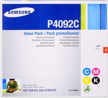 Samsung clt-p4092c Multipack originale 4 colori: cyano-magenta-giallo-nero