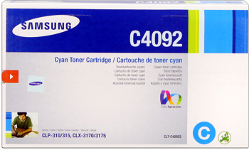 Samsung clt-c4092s toner cyano, durata 1.000 pagine