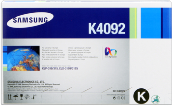 Samsung clt-k4092s toner nero, durata 1.500 pagine