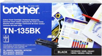 Brother tn-135bk toner nero, durata 5.000 pagine