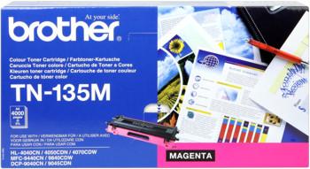 Brother tn-135m toner magenta, durata 4.000 pagine