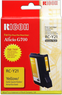 Ricoh 402277 cartuccia giallo 2.300p