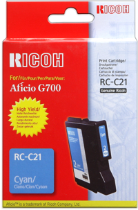 Ricoh 402279 cartuccia cyano 2.300p