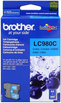 Brother lc-980c cartuccia cyano