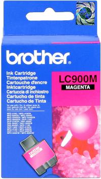 Brother lc-900m cartuccia magenta