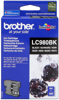 Brother lc-980bk cartuccia nero