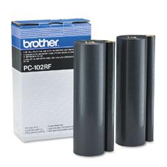 Brother pc-102rf carta termica 2 pz