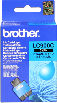 Brother lc-900c cartuccia cyano