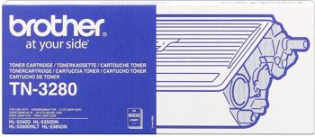 Brother tn-3280 toner nero, durata 8.000 pagine