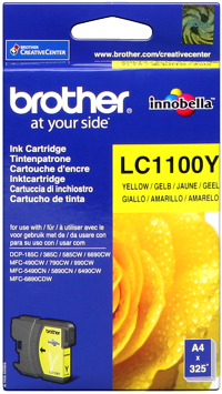 Brother lc-1100y cartuccai giallo